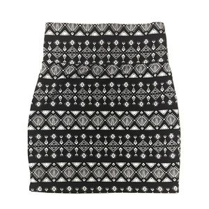 NWOT Charlotte Russe Tribal Pencil Stretch Skirt